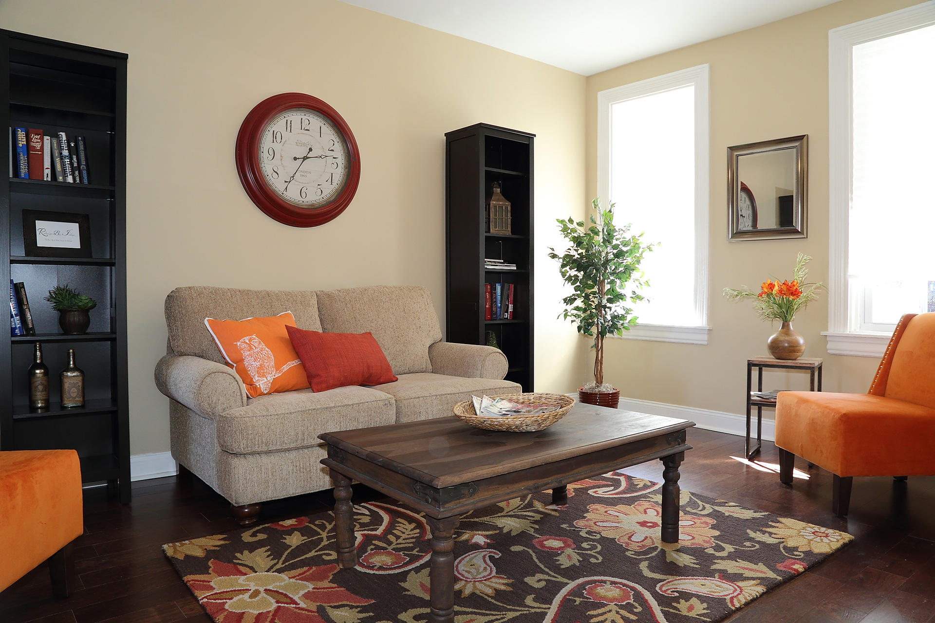staged living rooms. Living room in Lititz  PA Room Staged Lancaster REDesign by Indigo